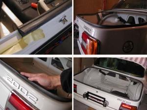 BMW2002のトランクゴムシール