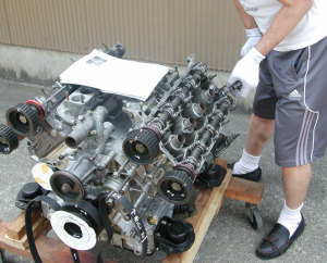 308GTBエンジン